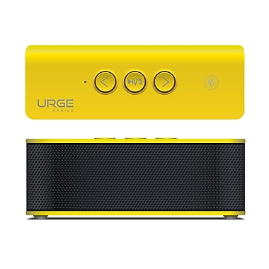 SoundBrick Plus Portable Bluetooth Stereo Speaker, Yellow