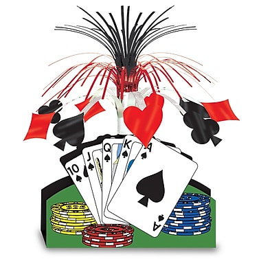Playing Card Centerpiece, 13