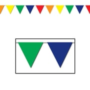 """Outdoor Pennant Banner, 17"""" x 120', Multi-Colour"""