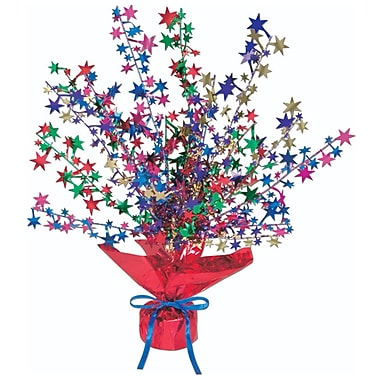 Centre de table étoilé Gleam 'N Burst, 15 po, multicolore, 3/paquet