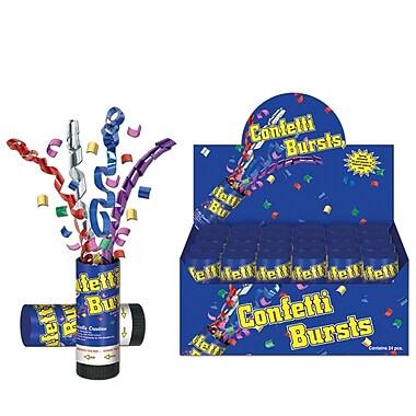 Confetti Bursts, Multi-Colour, 10/Pack
