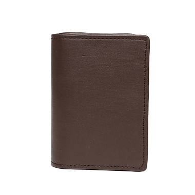 Ashlin Abriella Ultimate Card Case, Dark Brown