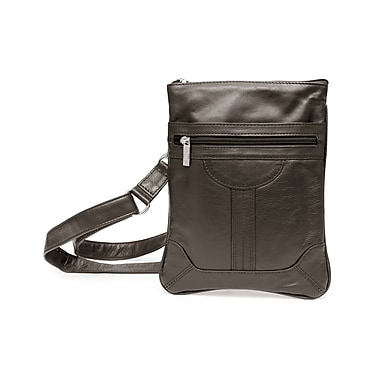 Ashlin Dorothy Classic Slim Cross Body Bag, Black