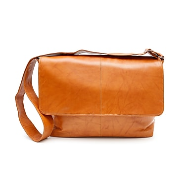 Ashlin® Rikar Messenger Bag, British Tan