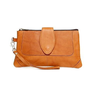 Ashlin Natasha Mid Sized Wristlet, British Tan
