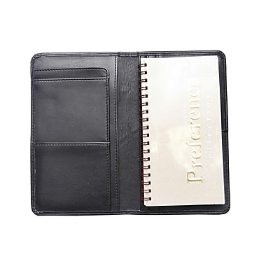 Ashlin® Londonderry Slim Agenda with Cover, Black