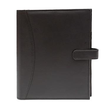 Ashlin® Agenda rechargeable de format moyen Hough, noir