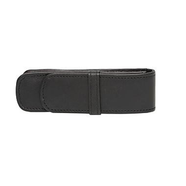 Ashlin® L'Aquila Double Pen Case, Black