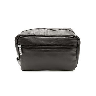 Ashlin® Payton Compact Shave Bag, Black