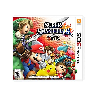 Nintendo 3DS – Jeu Super Smash Bros, bilingue