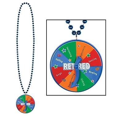 Beads With Retired Spinner Medallion, 40
