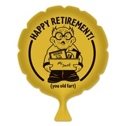 """Happy Retirement! Whoopee Cushion, 8"""", 4/Pack"""