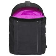 "Fabrique FWB14BK Miami City Slim Cross Body Backpack For 14"" Laptop, Black"