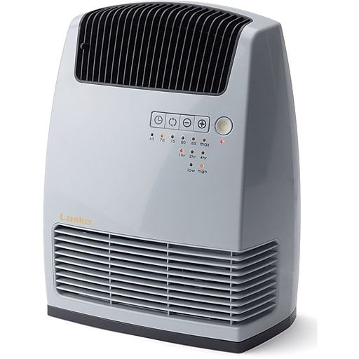 Lasko® Electronic Ceramic Heater With Warm Air Motion Technology