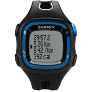 Garmin® Forerunner® 15 Large GPS Running Watch, Blue/Black