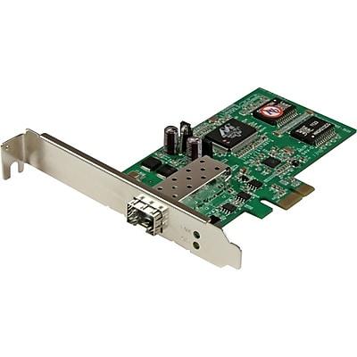 StarTech PEX1000SFP2 PCI Express Gigabit Ethernet Fiber Network Card With Open SFP Slot IM1VW2762