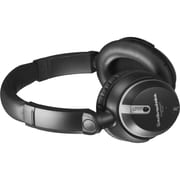 Audio Technica ATH-ANC9 QuietPoint Active Noise Cancelling Headphones, Black