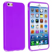 Insten® TPU Case For iPhone 6/6S, Purple Jelly