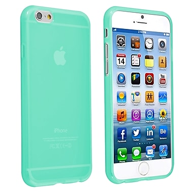 Insten TPU Case For iPhone 6/6S, Clear Neon Green (1925886)