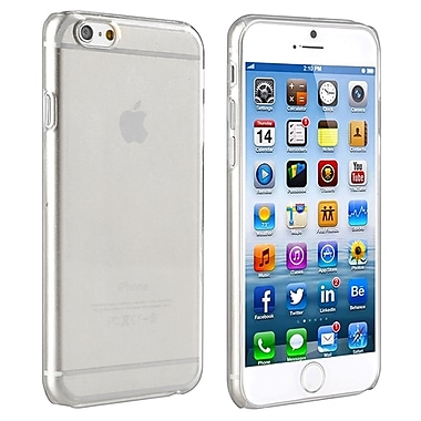 Insten® Snap-In Slim Case For iPhone 6, Clear Rear