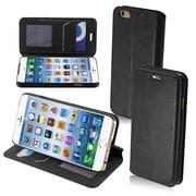 Insten® MyJacket Wallet For iPhone 6, Black