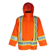 Viking Professional Arctic 300D Waterproof Insulated Safety 3in1 Jackets, Fluorescent Orange