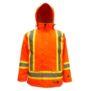 Viking – Parkas de sécurité Professional Freezer 300D étanche et isotherme, orange fluorescent