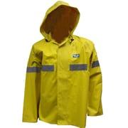 Viking Miner 49er Chemical-Resistant Neoprene Waterproof Mining Jackets, Yellow