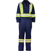 Viking CSA Striped Safety Coveralls, Navy