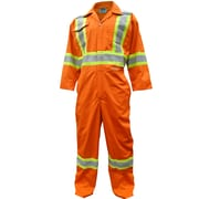 Viking CSA Striped Safety Coveralls, Orange