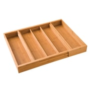 Seville Classics Expandable Bamboo Drawer Organizer