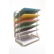 Seville Classics 6-Tray Mesh Office Desk Wall Organizer