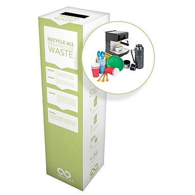 TerraCycle® Breakroom Waste Zero Waste Box, 11