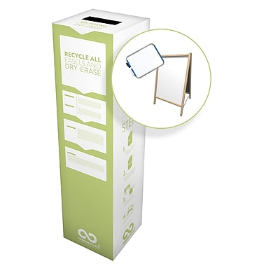 TerraCycle® Easels and Dry-Erase Zero Waste Box, 10