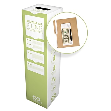TerraCycle® Filing Accessories Zero Waste Box, 10