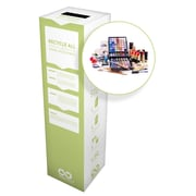 "TerraCycle Health, Beauty and Travel Accessories Zero Waste Box, 10"" x 10"" x 18"", Small"