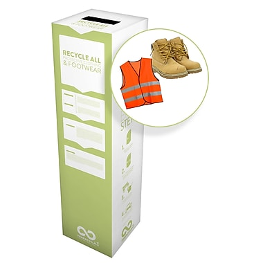 TerraCycle® Protective Clothing and Footwear Zero Waste Box, 10