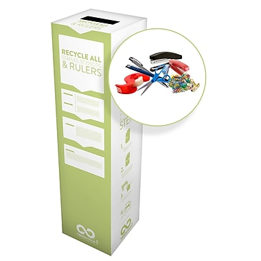 TerraCycle® Staples, Scissors and Rulers Zero Waste Box, 10