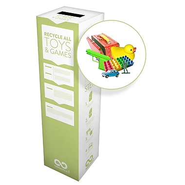 TerraCycle® Toys and Games Zero Waste Box, 10