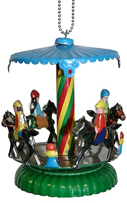 Alexander Taron Collectible Horse Carousel Tin Ornament