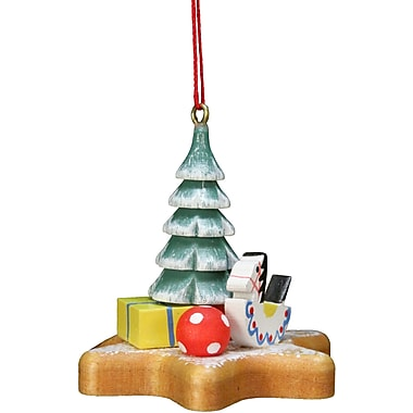 Alexander Taron Christian Ulbricht Xmas Tree on Star Ornament