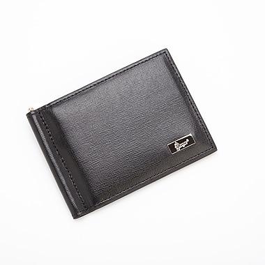 Royce Leather® RFID Blocking Money Clip Credit Card Front Pocket Wallet, Black