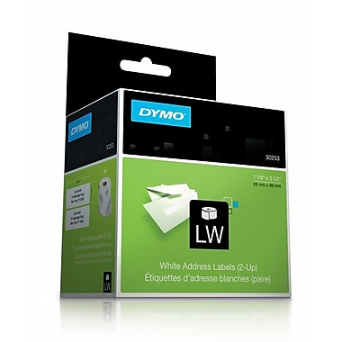 Dymo® LW Label Writer Self-Adhesive Address Labels, 1 1/8