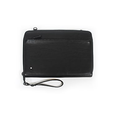 PKG 'Dinner Jackit' MacBook Pro Sleeves Shell with Strap, Faux Cow Leather, 15