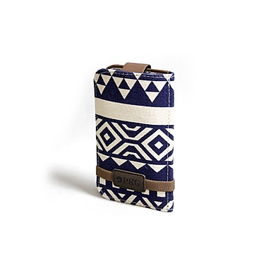 PKG 'Spread Eagle' iPhone Wallet Carry Case, Navy Aztec