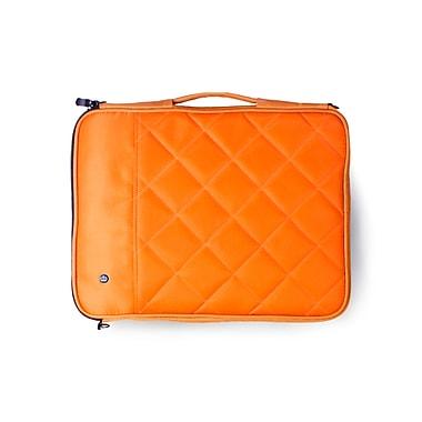 PKG – Étui/pochette « Stuff » de transport universel pour tablette, matelassé, 10 po, orange