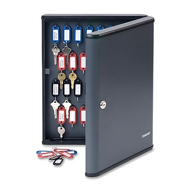 MMF SteelMaster Security Key Cabinet, 60 Key Capacity