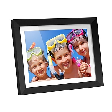 Aluratek ADMPF415F Digital Photo Frame With 2GB Built-in Memory, 15