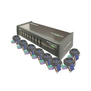 IOGEAR® 8-Port KVM Switch With Cables Kit
