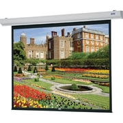"Da-Lite 89718W Designer Contour Electrol 99"" Projection Screen With Remote, ..."